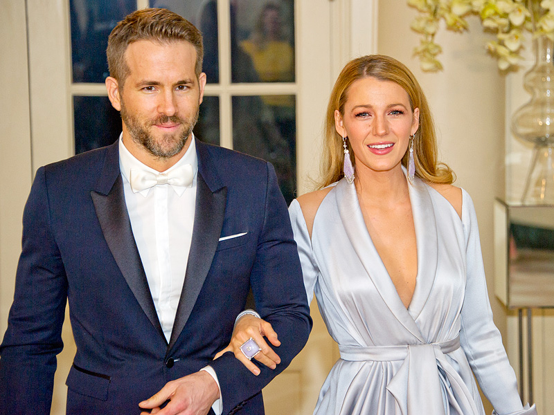 Blake Lively and Ryan Reynolds in an undated photo.