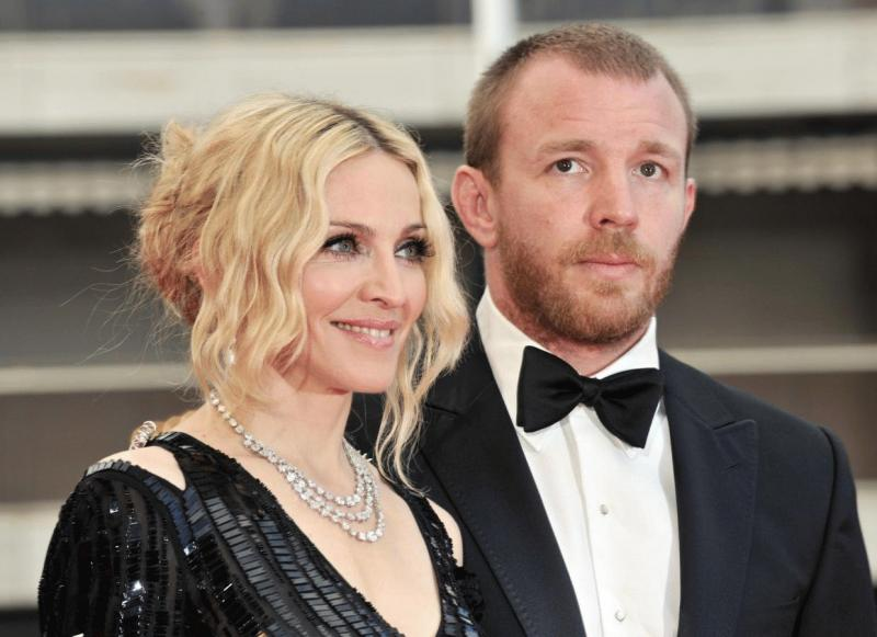 Madonna and Guy Ritchie in an undated photo.