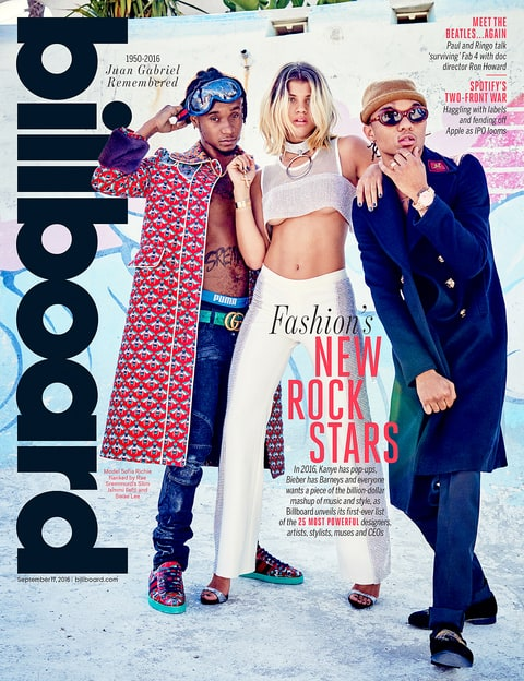 Sofia Richie for Billboard magazine's latest issue.