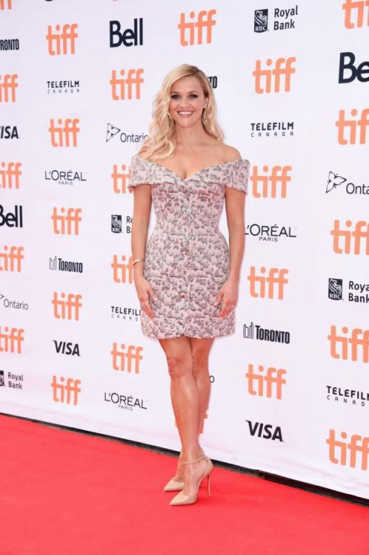 "Reese Witherspoon at this year's Toronto International Film Festival as she promotes ""Sing."""