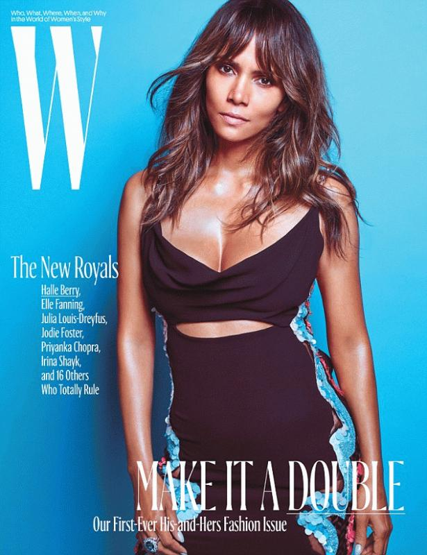 Halle Berry for the latest issue of W magazine.