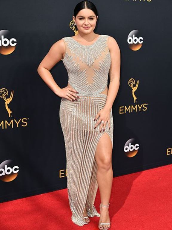 Ariel Winter at this year's Emmy Awards.
