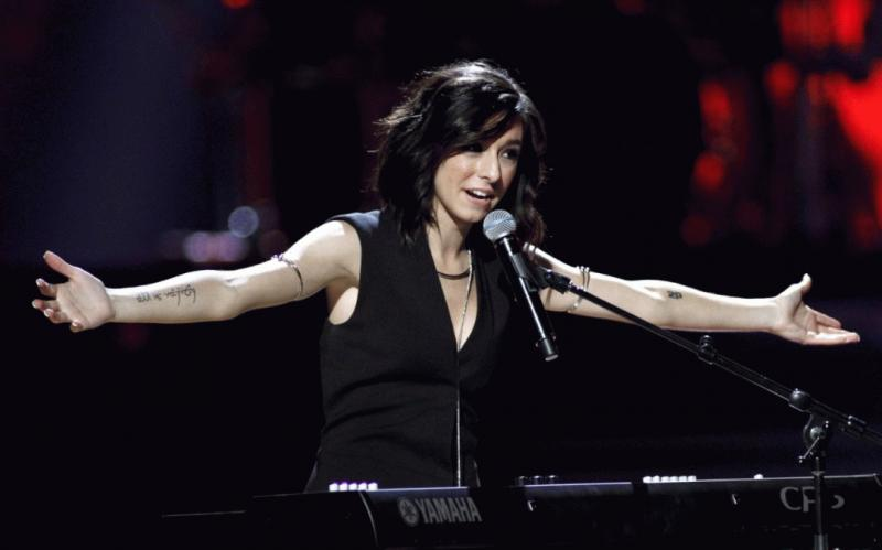 Christina Grimmie in an undated photo.