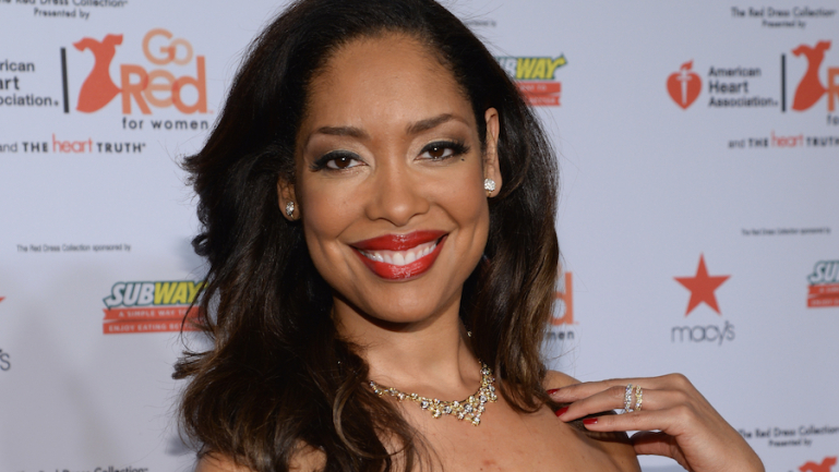 """Gina Torres as Jessica in """"Suits"""" in an undated photo."""