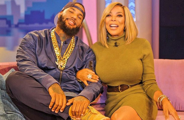 "The Game photographed during the Tuesday episode of ""The Wendy Williams Show."""