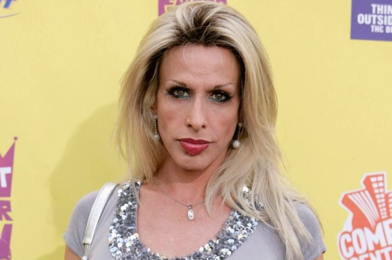 Alexis Arquette in an undated photo.