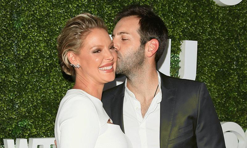 Katherine Heigl and her husband in an undated photo.