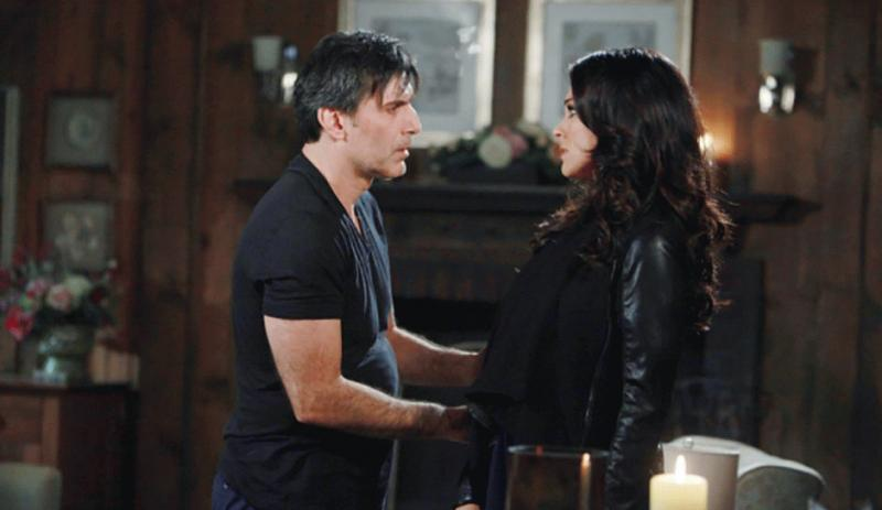 "Chloe and Deimos in a still from one of the scenes of ""Days of Our Lives."""