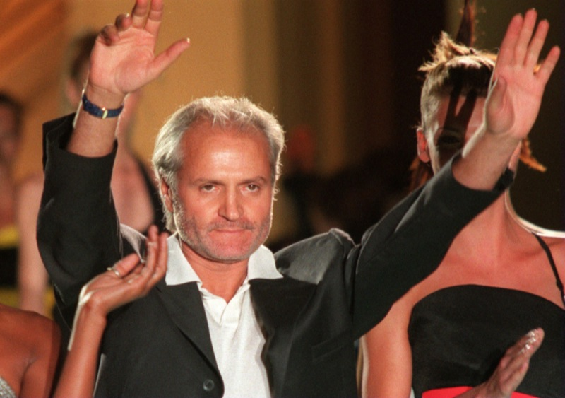 Gianni Versace in an undated photo.