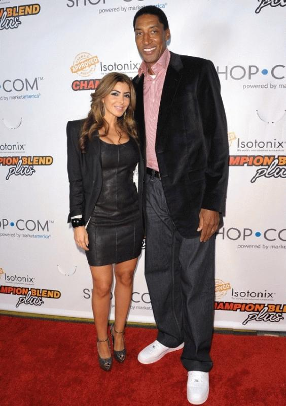 Scottie and Larsa Pippen in an undated photo.