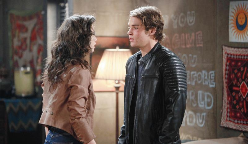 """Jade and Joey in one of the episodes of """"Days of Our Lives."""""""