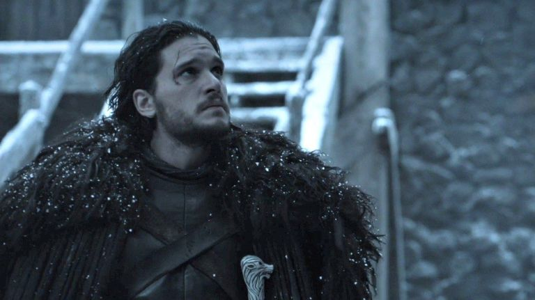 """An undated photo showing Kit Harington playing Jon Snow on """"Game of Thrones."""""""