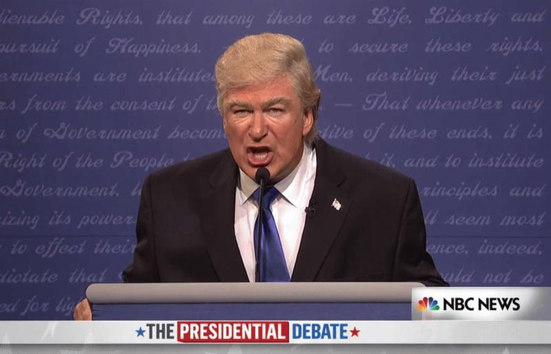 Alec Baldwin as Donald Trump in an undated photo.