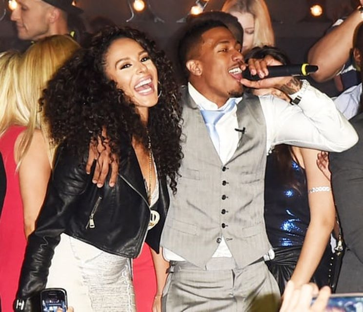 Nick Cannon and Brittany Bell in an undated photo.
