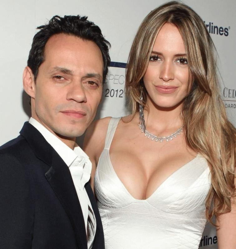 March Anthony and Shannon De Lima in an undated photo.