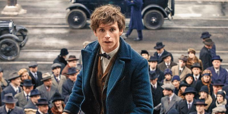 "A promo photo for ""Fantastic Beast and Where to Find Them"" showing the lead actor for the flick, Eddie Redmayne."