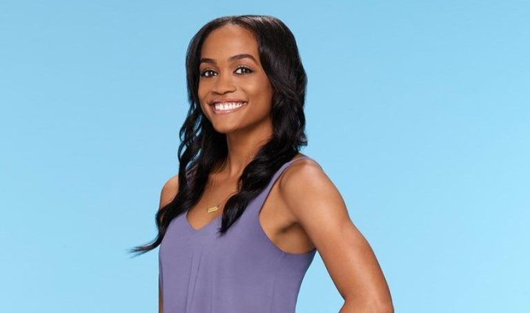 "A promo photo showing Rachel Lindsay for this season of ""The Bachelor."""