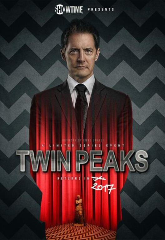 "A promo photo for ""Twin Peaks"" 2017 season."