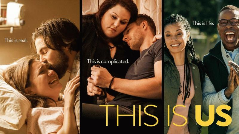 "A promo photo for ""This Is Us"" showing the lead characters of the hit NBC drama."