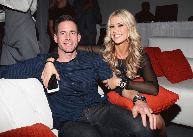 Tarek and Christina El Moussa in an undated photo.