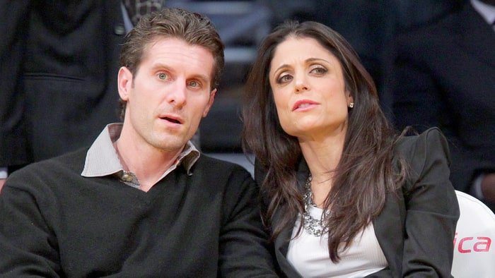 Bethenny Frankel and her ex-husband in an undated photo.
