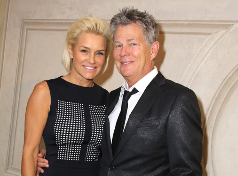 Yolanda Hadid and David Foster in an undated photo.