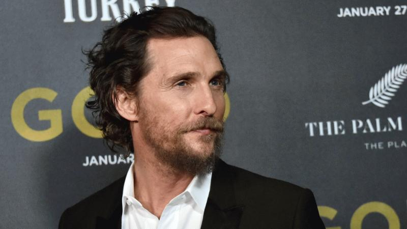 Matthew McConaughey in an undated photo.