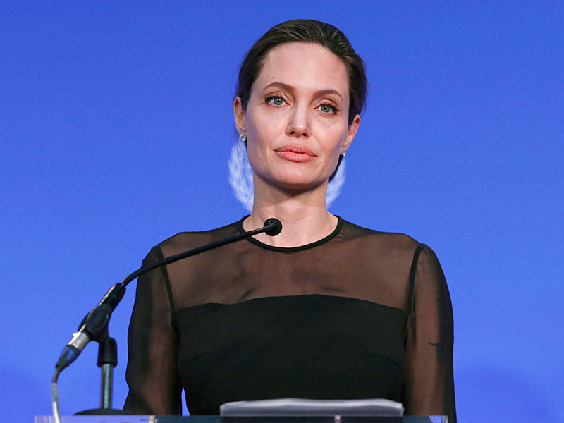 Angelina Jolie in an undated photo.