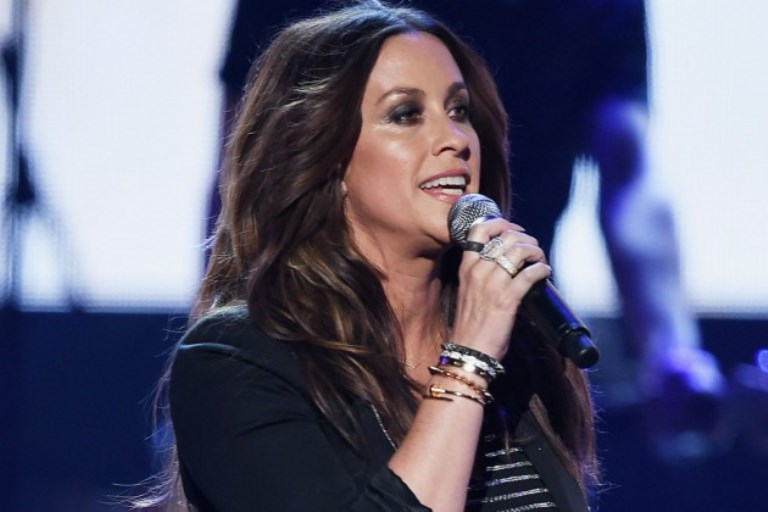 Alanis Morissette in an undated photo.