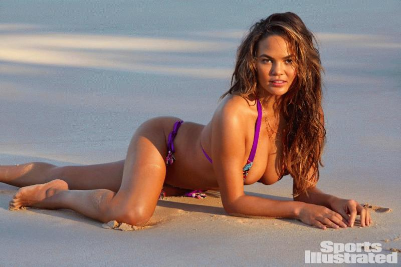 Chrissy Teigen for the latest issue of Sports Illustrated.