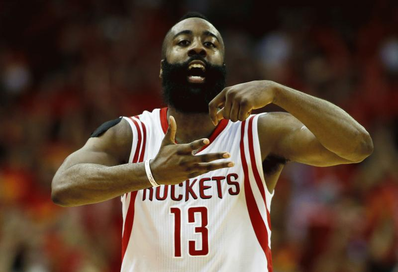 James Harden in an undated photo.