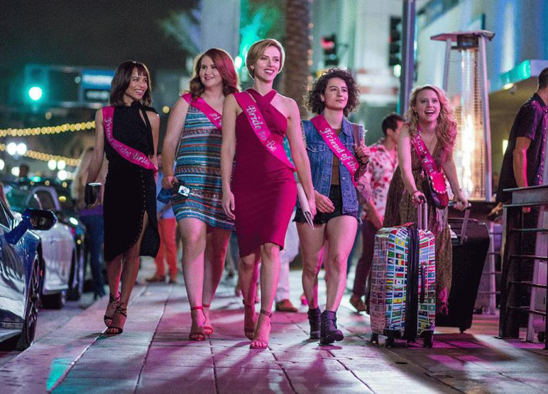 """A promo photo showing the stars of """"Rough Night."""""""