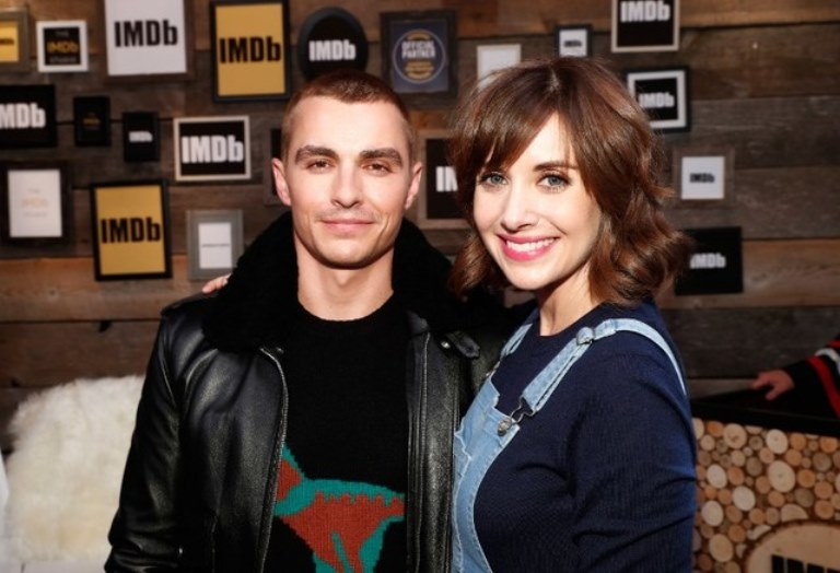 Brie Larson and Dave Franco in an undated photo.