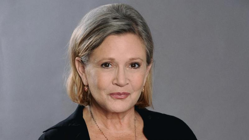 Carrie Fisher in an undated photo.