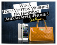 Win A Louis Vuitton Wilshire PM Handbag Or An iPhone 5